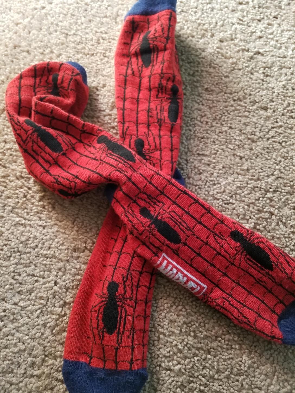 spidey socks